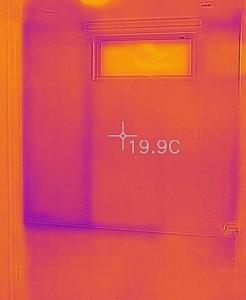 二階壁面温度
