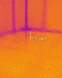 二階床面温度